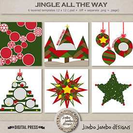 Jingle all the way | Templates