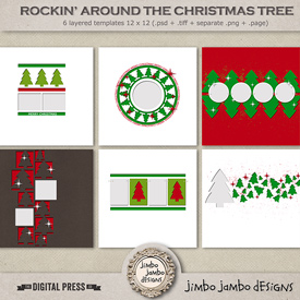 Rockin around the Christmas tree | Templates