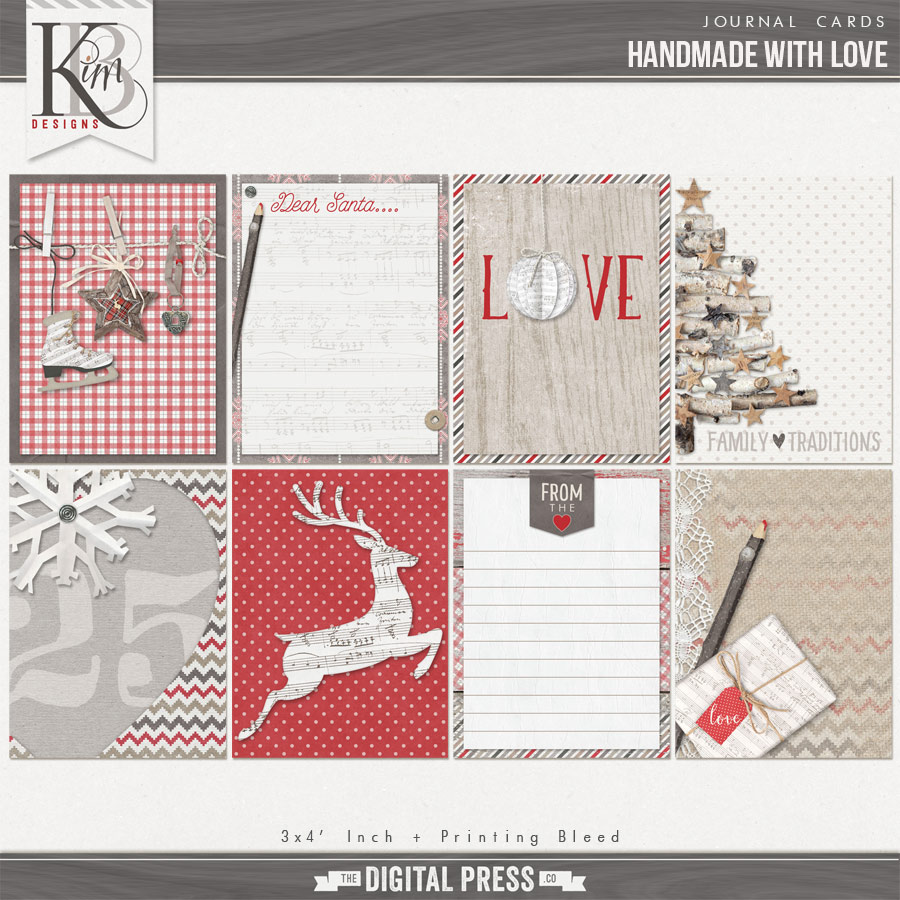 Handmade with Love : Journal Cards