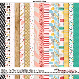 Bake The World A Better Place | Patterns