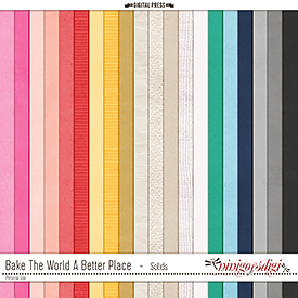 Bake The World A Better Place   Solids