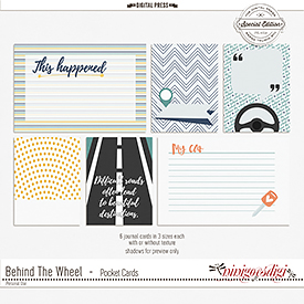 Behind The Wheel | Pocket Cards