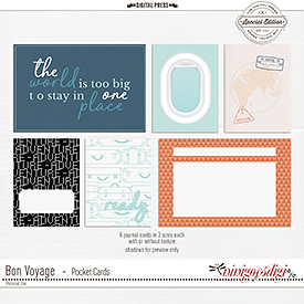 Bon Voyage | Pocket Cards