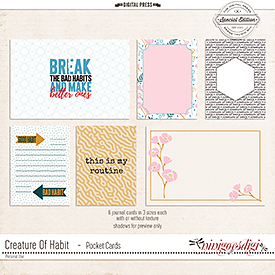 Creature Of Habit | Pocket Cards