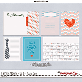 Family Album - Dad | Pocket Cards