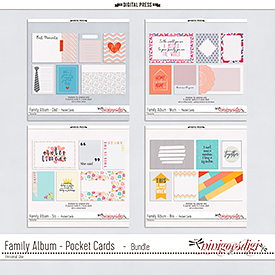 Family Album - Pocket Cards | Bundle