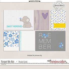 Forget Me not | Pocket Cards