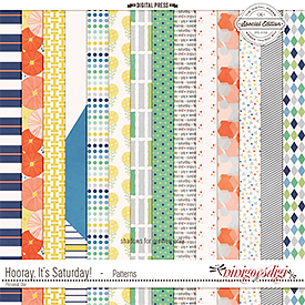 Hooray, It's Saturday! | Patterns