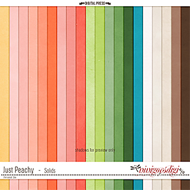 Just Peachy | Solids
