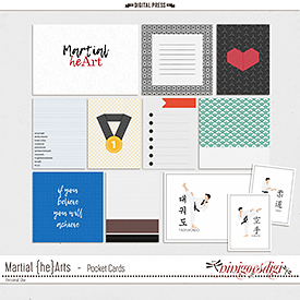 Martial {he}Arts | Pocket Cards