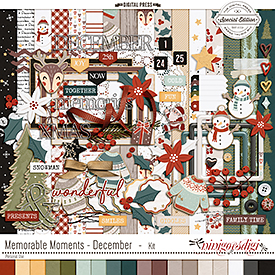 Memorable Moments - December | Kit