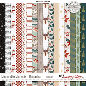 Memorable Moments - December | Patterns