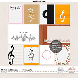 Music To My Ears   Pocket Cards