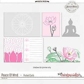 Peace Of Mind | Pocket Cards