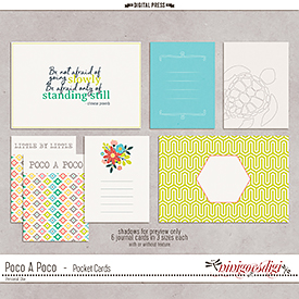 Poco A Poco | Pocket Cards
