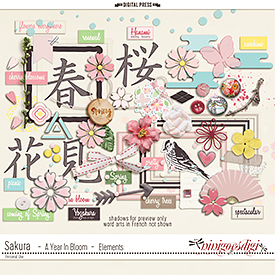 Sakura {Cherry Blossom} | Elements