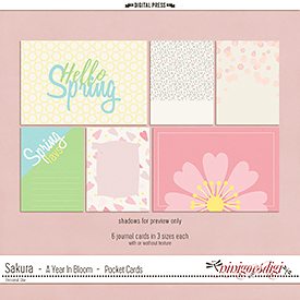 Sakura {Cherry Blossom} | Pocket Cards