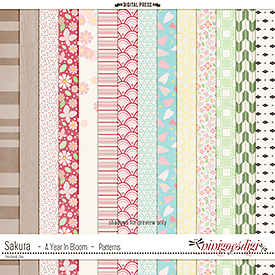 Sakura {Cherry Blossom} | Patterns