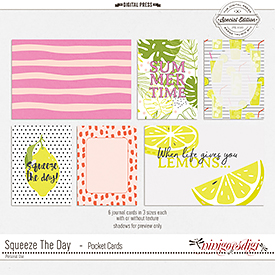 Squeeze The Day | Pocket Cards