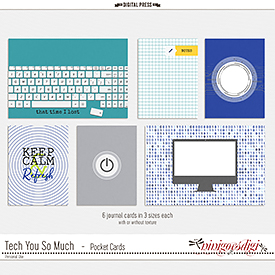 Tech You So Much | Pocket Cards