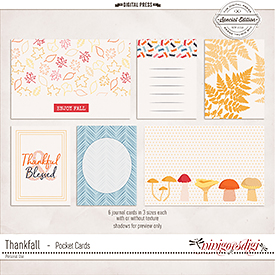 ThankFall | Pocket Cards