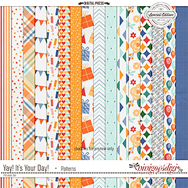 Yay! It's Your Day! | Patterns