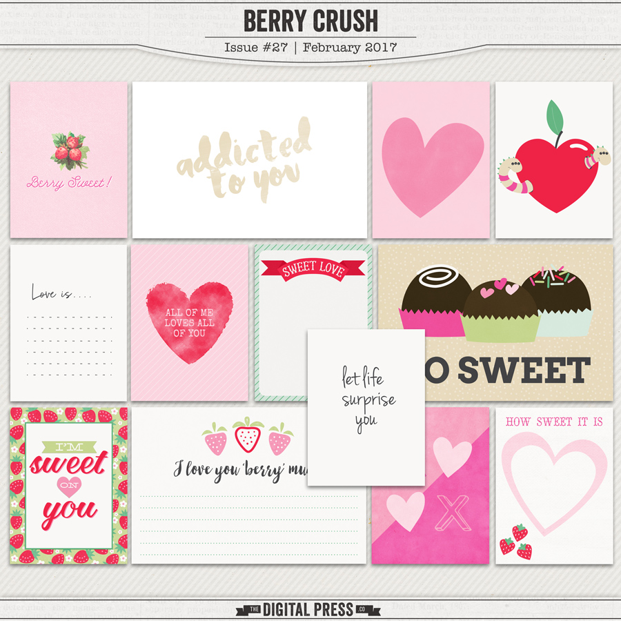 Berry Crush | Pocket Cards