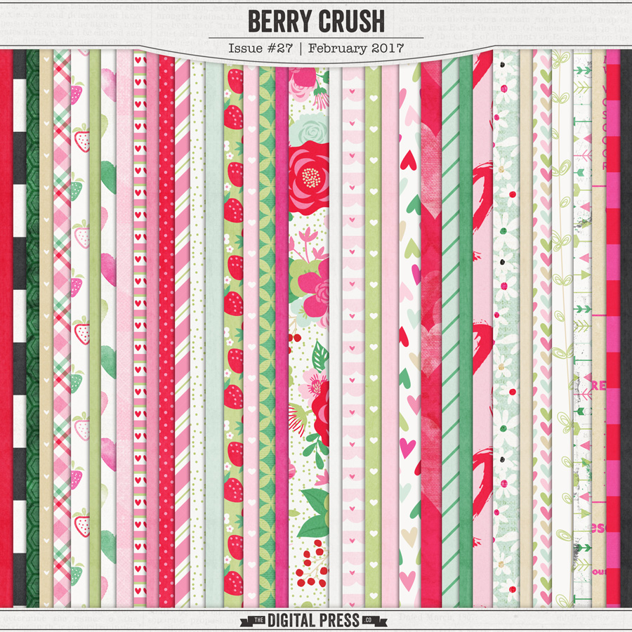 Berry Crush | Paper