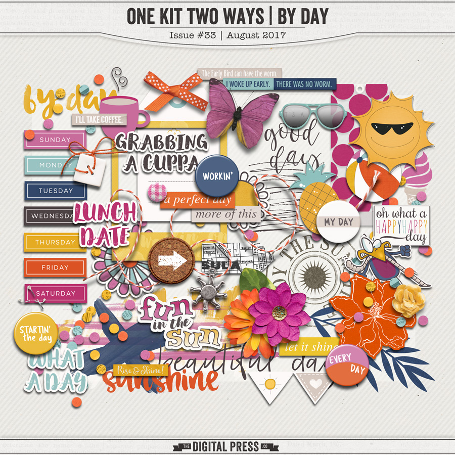 One Kit Two Ways | By Day Elements