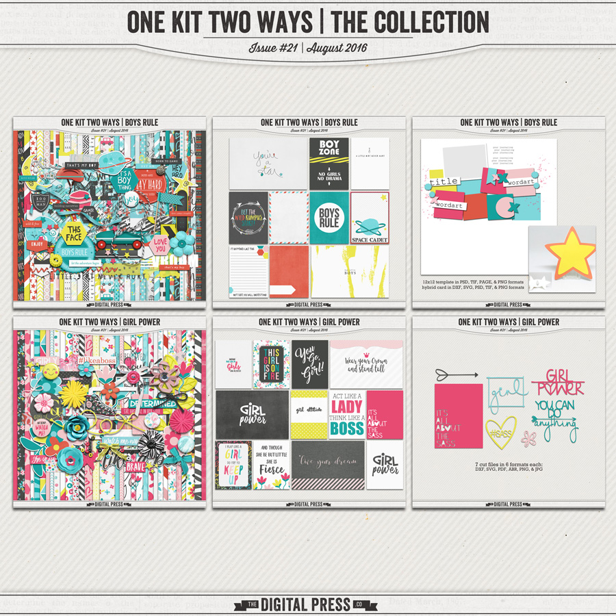 One Kit Two Ways | The Collection