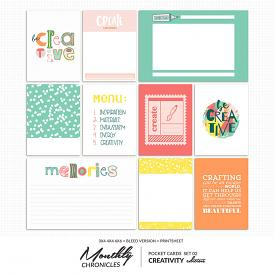 Monthly Chronicles | Creativity PocketCards 02