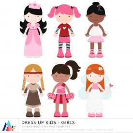Dress Up Kids - Girls (CU)