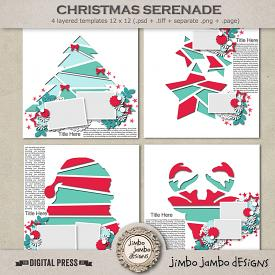 Christmas serenade | Templates