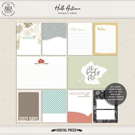 Hello Autumn | Pocket cards