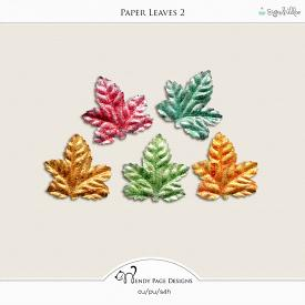 Paper Leaves 2
