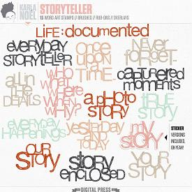 Storyteller | word arts