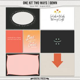 One Kit Two Ways | Down Pocket Cards