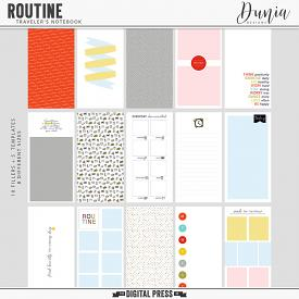 Routine | Traveler's Notebook