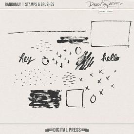 Randomly | Stamps & Brushes