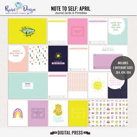 Note To Self April | Pocket Cards