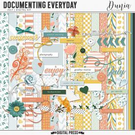 Documenting Everyday | July - Kit