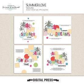 Summer love - templates