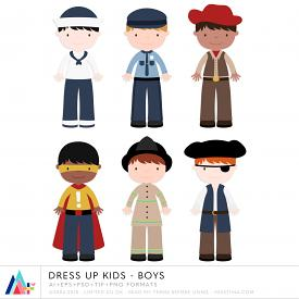 Dress Up Kids - Boys (CU)