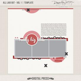 All Laid Out - Vol 1 | Template