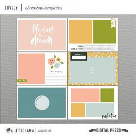 Lovely | Photoshop Templates