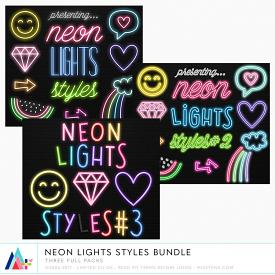 Bundle :: Neon Lights Styles (CU)