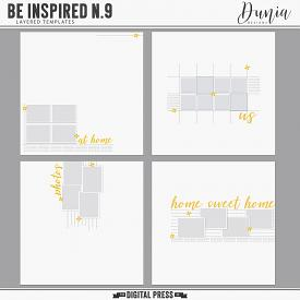Be Inspired N.9 | Layered Templates