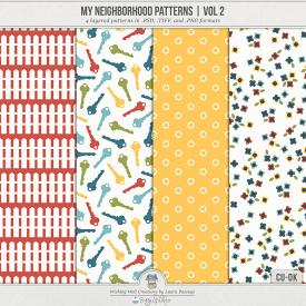 My Neighborhood Patterns Volume 2 (CU)