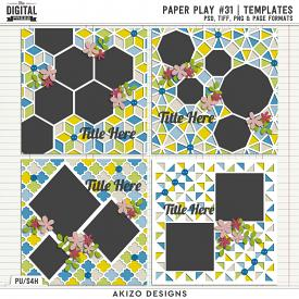 Paper Play 31 | Templates