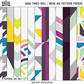 Good Times Roll | Mega Big Pattern Papers